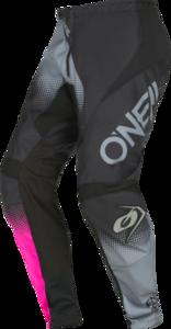O'NEAL ELEMENT Women´s Pants RACEWEAR V.22 Black/Gray/Pink