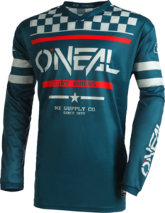 O'NEAL ELEMENT Jersey SQUADRON V.22 Teal/Gray