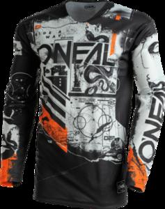 O'NEAL MAYHEM Jersey SCARZ V.22 Black/Gray/Orange