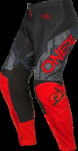 O'NEAL ELEMENT Hose CAMO V.22 Schwarz/Rot