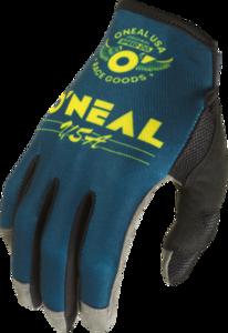 O'NEAL MAYHEM Nanofront Handschuh BULLET V.22 Blau/Gelb