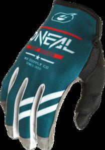 O'NEAL MAYHEM Nanofront Handschuh SQUADRON V.22 Teal/Grau