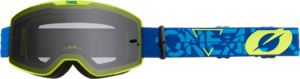 O'NEAL B-20 Goggle STRAIN V.22 Blue/Neon gelb
