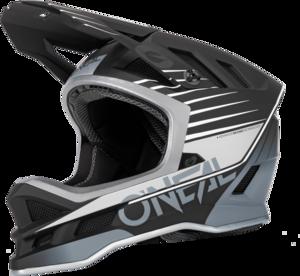 O'NEAL BLADE Polyacrylite Helmet DELTA V.22 Black/Gray