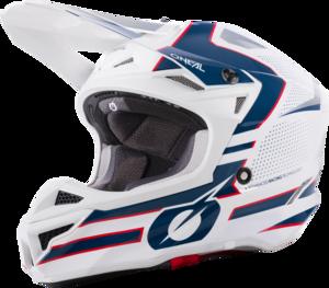 O'NEAL 5SRS Polyacrylite Helmet SLEEK V.21 White/Blue/Red