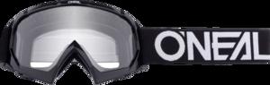 O'NEAL B-10 Youth Brille SOLID V.18 Schwarz/Weiß