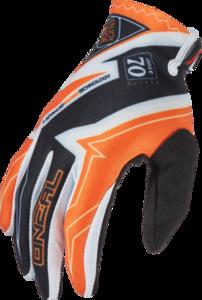 O'NEAL VAULT Glove RACEWEAR V.16 Black/Orange