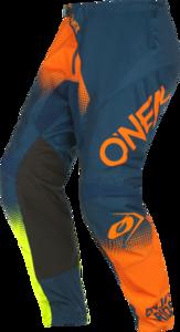 O'NEAL ELEMENT Hose RACEWEAR V.22 Blau/Orange/Neon gelb