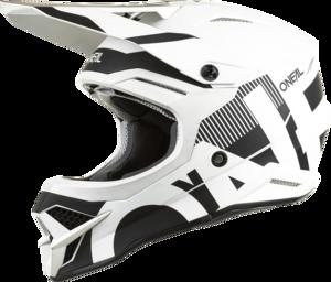 O'NEAL 3SRS Helm VERTICAL V.22 Schwarz/Weiß