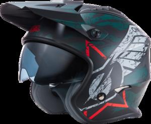 O'NEAL VOLT Helmet WING V.22 Black/Gray