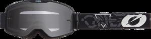 O'NEAL B-20 Goggle STRAIN V.22 Black/White One Size