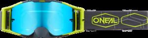 O'NEAL B-30 Brille HEXX V.22 Grau/Neon gelb One Size