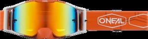 O'NEAL B-30 Brille HEXX V.22 Orange/Weiß One Size