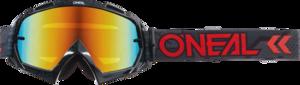 O'NEAL B-10 Brille CAMO V.22 Schwarz/Rot One Size