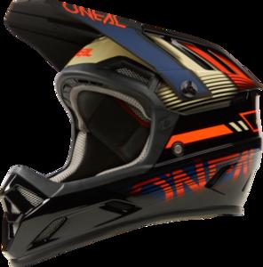 O'NEAL BACKFLIP Helmet ECLIPSE V.21 Orange/Blue