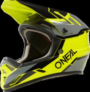 O'NEAL BACKFLIP Helm STRIKE V.21 Neon gelb/Schwarz