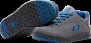 O'NEAL PINNED PRO FLAT Pedal Shoe V.22 Gray/Blue
