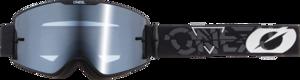 O'NEAL B-20 Goggle STRAIN V.22 Black/White