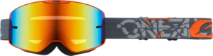 O'NEAL B-20 Goggle STRAIN V.22 Gray/Orange
