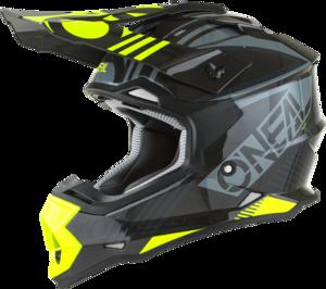 O'NEAL 2SRS Youth Helm RUSH V.22 Grau/Neon gelb