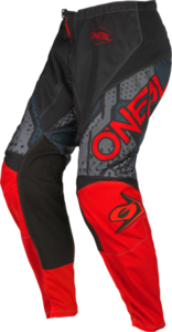 O'NEAL ELEMENT Youth Pants CAMO V.22 Black/Red