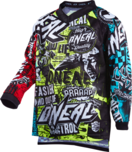 O'NEAL ELEMENT Youth Jersey WILD V.22 Multi