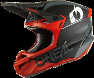 O'NEAL 5SRS Polyacrylite Helmet HAZE V.22 Black/Red