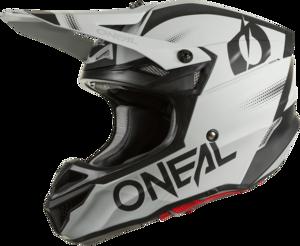 O'NEAL 5SRS Polyacrylite Helmet HAZE V.22 Gray/Black