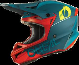 O'NEAL 5SRS Polyacrylite Helmet HAZE V.22 Blue/Red