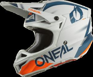 O'NEAL 5SRS Polyacrylite Helmet HAZE V.22 Blue/Orange
