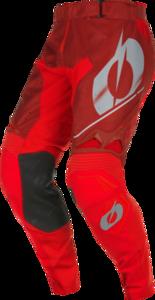 O'NEAL HARDWEAR Hose HAZE V.22 Rot/Grau