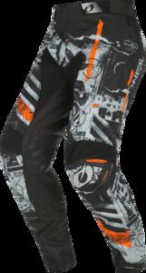 O'NEAL MAYHEM Pants SCARZ V.22 Black/Gray/Orange