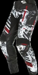 O'NEAL MAYHEM Pants SCARZ V.22 Black/White/Red