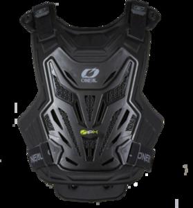O'NEAL SPLIT Chest Protector LITE V.22 Schwarz One Size