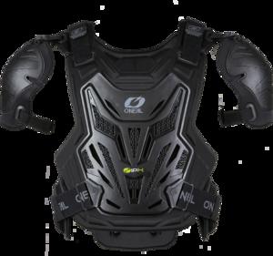 O'NEAL SPLIT Chest Protector PRO V.22 Schwarz One Size