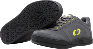 O'NEAL PINNED SPD Schuh V.22 Grau/Neon gelb