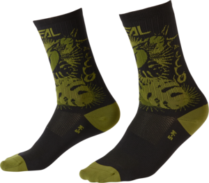 O'NEAL MTB Performance Sock PLANT V.22 Schwarz/Grün