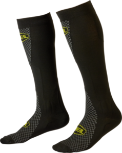 O'NEAL MX Performance Sock V.22 Schwarz/Neon gelb