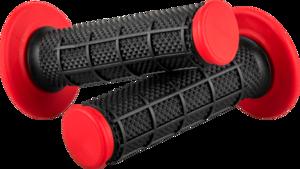 O'NEAL MX Grips DIAMOND DUAL COMPOUND V.17 Black/Red