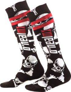 O'NEAL PRO MX Socke CROSSBONE V.10 Schwarz/Weiß One Size