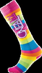 O'NEAL PRO MX Sock RAINBOW V.14 Multi