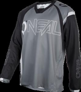 O'NEAL ELEMENT FR Jersey HYBRID V.21 Black/Gray