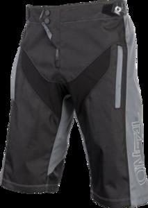 O'NEAL ELEMENT FR Shorts HYBRID V.21 Black/Gray
