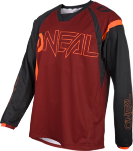 O'NEAL ELEMENT FR Jersey HYBRID V.21 Rot/Orange