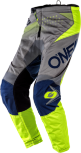 O'NEAL ELEMENT Pants FACTOR V.20 Gray/Blue/Neon gelb