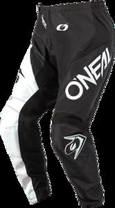 O'NEAL ELEMENT Hose RACEWEAR V.21 Schwarz/Weiß