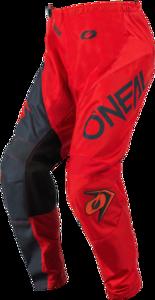 O'NEAL ELEMENT Pants RACEWEAR V.21 Red/Gray