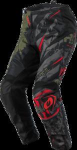 O'NEAL ELEMENT Pants RIDE V.21 Black/Green