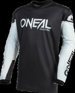 O'NEAL ELEMENT Jersey THREAT V.21 Schwarz/Weiß
