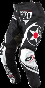 O'NEAL ELEMENT Pants WARHAWK V.21 Black/White/Green